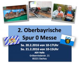 2. Oberbayerische Spur 0 Messe Dachau