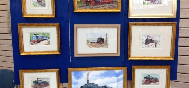 Von der Schifffahrt zur Modellbahn – Züge im Zentrum der Kunst