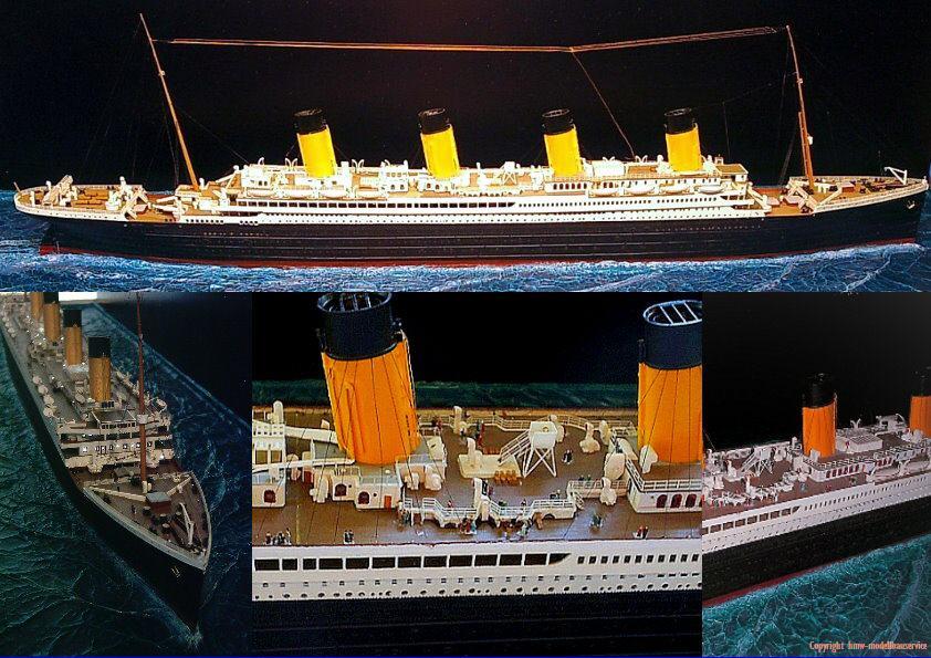 Titanic Modell Modellbau Diorama