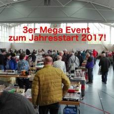 DAS MEGA Modellbahn Markt- & Treff-Wochenende