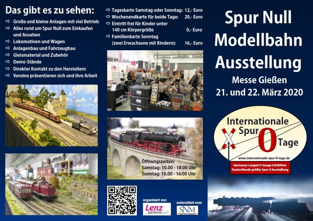 2020 Spur Null Messe Gießen